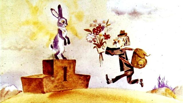 Стихи для детей Голубой заяц