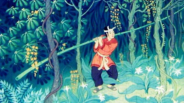 Вьетнамская народная сказка Бамбук о ста коленцах