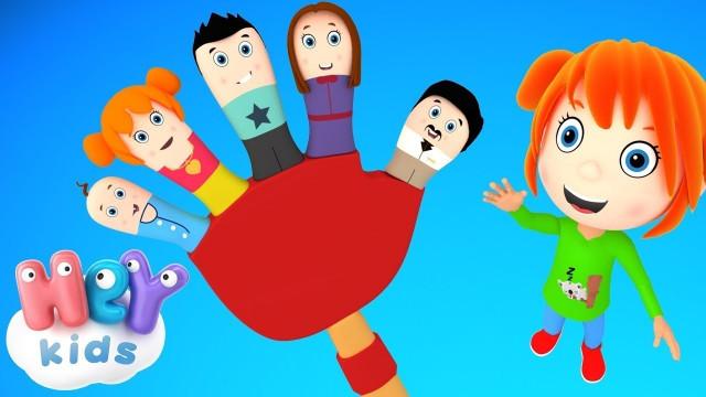 Пісенька Родини Пальців - Дитячі пісні українською мовою