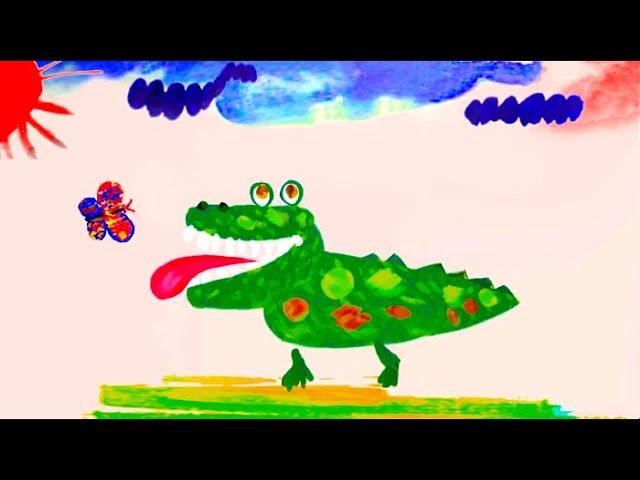 Как кричит крокодил - Музыкальный мультфильм - Союзмультфильм 2012