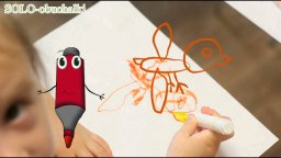 Обучающие- мультфильмы-Уроки Рисования Онлайн для самых маленьких- рисуем птичку