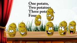 One potato, two potatoes... Английский для детей. Наше всё!