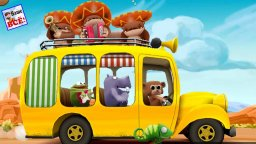 Wheels on the bus. Английские песенки для детей. Song for kids. Наше всё!