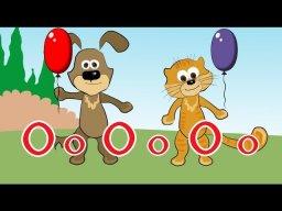 Обучающие мультфильмы - Читаем Букву О с Кузей и Барбосом