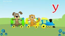 Учимся читать с Котом Кузей и Собачкой Барбосом-буква У. Катаемся на паровозике.