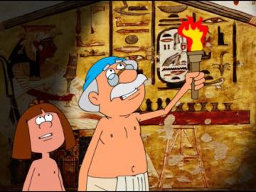 Занимательные уроки Р. Саакаянца - Всемирная история Древний Египет