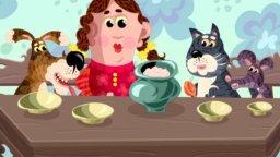 Ума-ма потешки для детей (Кашка из гречки) | Короткометражные мультфильмы