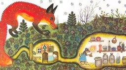 Лис и мышонок. Виталий Бианки