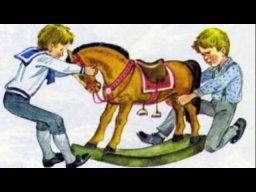 """Л.Н. Толстой """"Был у Пети и Миши конь"""""""