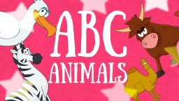 ABC ANIMALS! English alphabet for kids! A B C D - learn the alphabet! English letter sounds