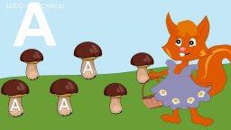 Сказка про букву А-Развивающие мультфильмы для самых маленьких-Учим буквы-буква А