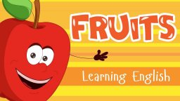 FRUITS FOR KIDS! Learning English - fruits for toddlers